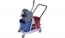 Wózek 2-wiaderkowy Higiena P.plastikowy C/N