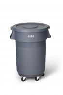Kosz Higiena P. na odpady gastro z pokr.120l