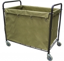 Wózek na pranie Higiena P. met-tekstylny khaki