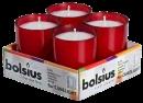 Wkład Bolsius ReLight Cube 25h czerwony a'4/3