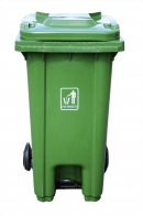 Kosz Higiena P. na odpady 240l zielony