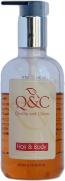 QC Higiena P.Żel do włosów i ciała 300ml /30